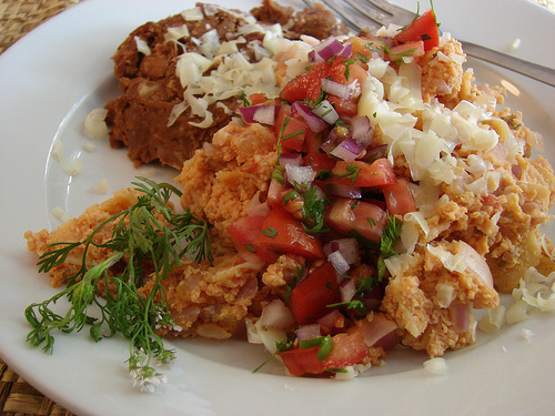 Not Exactly Grandma's Migas