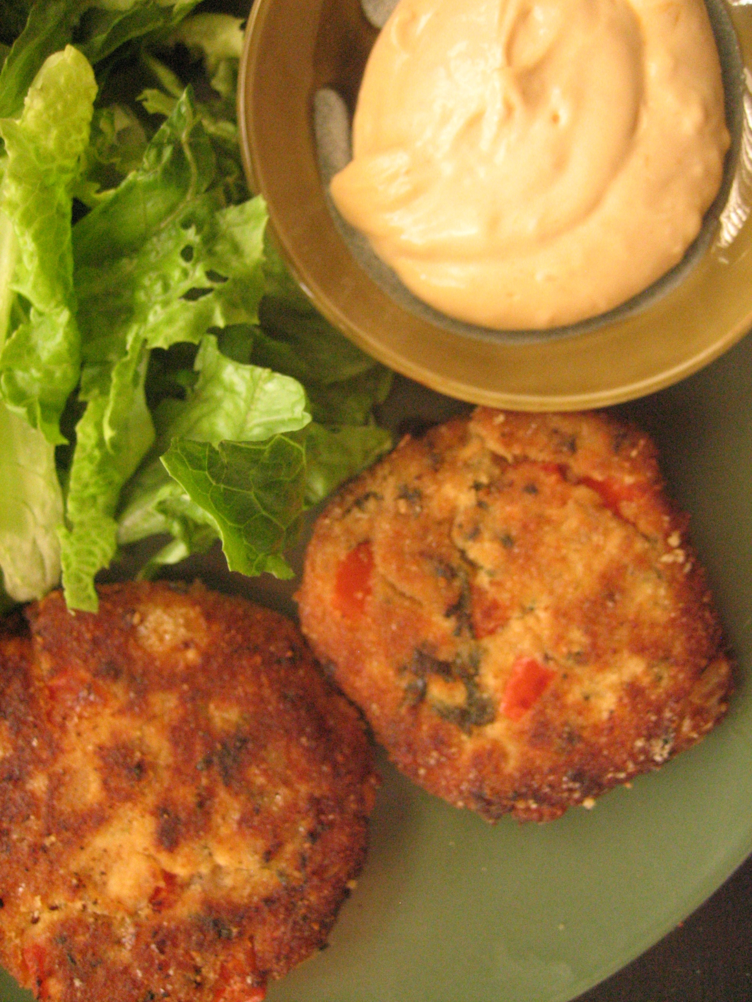 Cilantro Lime Salmon Cakes with Chipotle Mayo recipe on ...