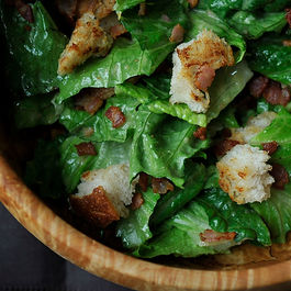Caesar Salad with Pancetta