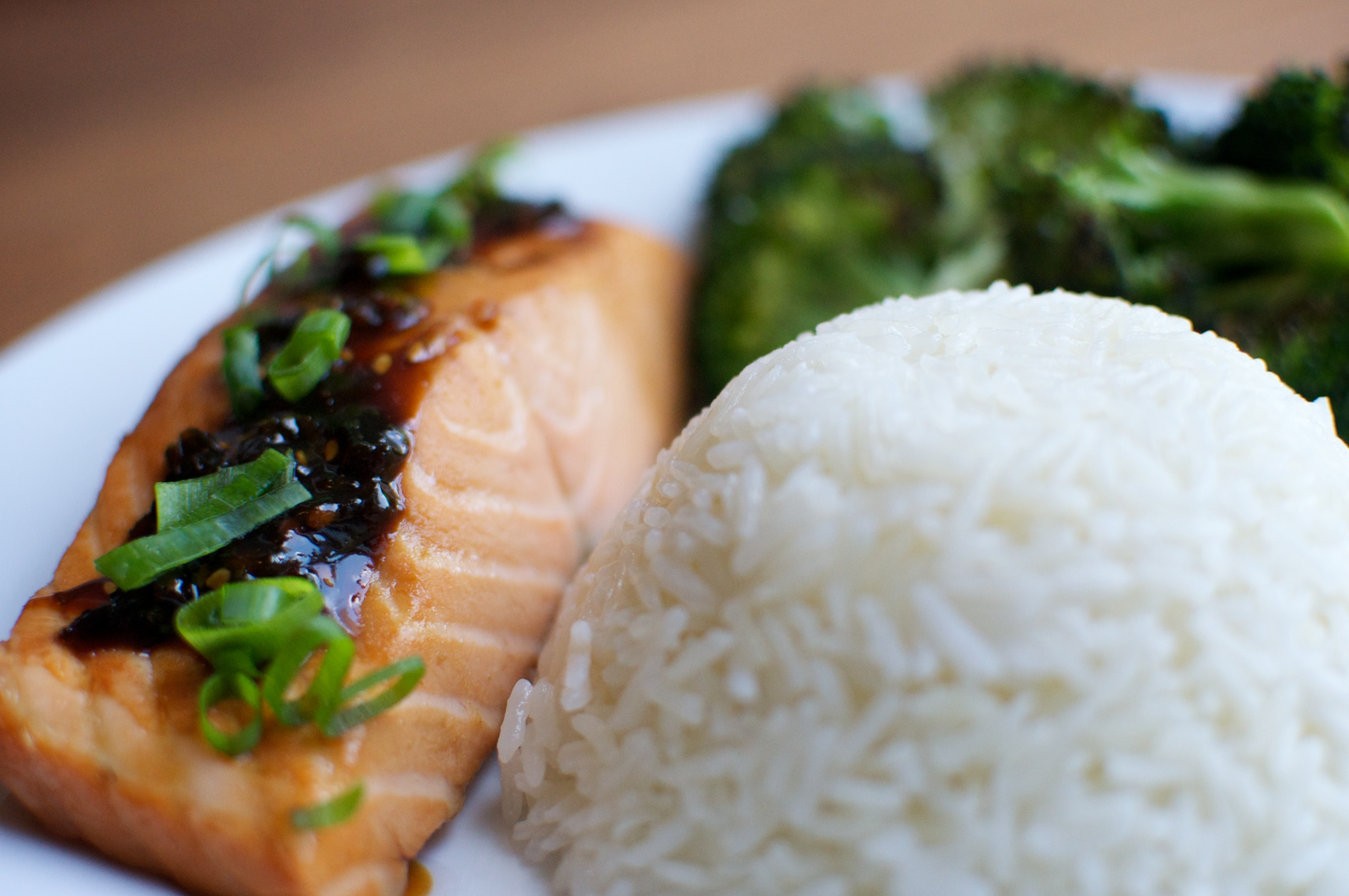 Tangy Teriyaki Salmon