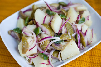Simple Sicilian Potato Salad
