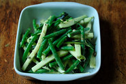 French Bean Salad with Tarragon and Green Peppercorn