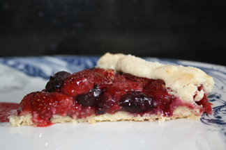 Spring Strawberry Galette