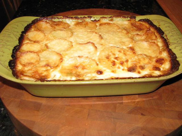 Potato Leek Gratin Recipe — Dishmaps