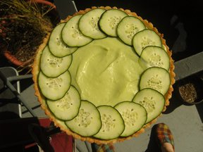 Dill Pickle Tart