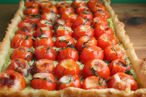 Caprese Tart