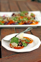 Summer Roasted Beet Salad
