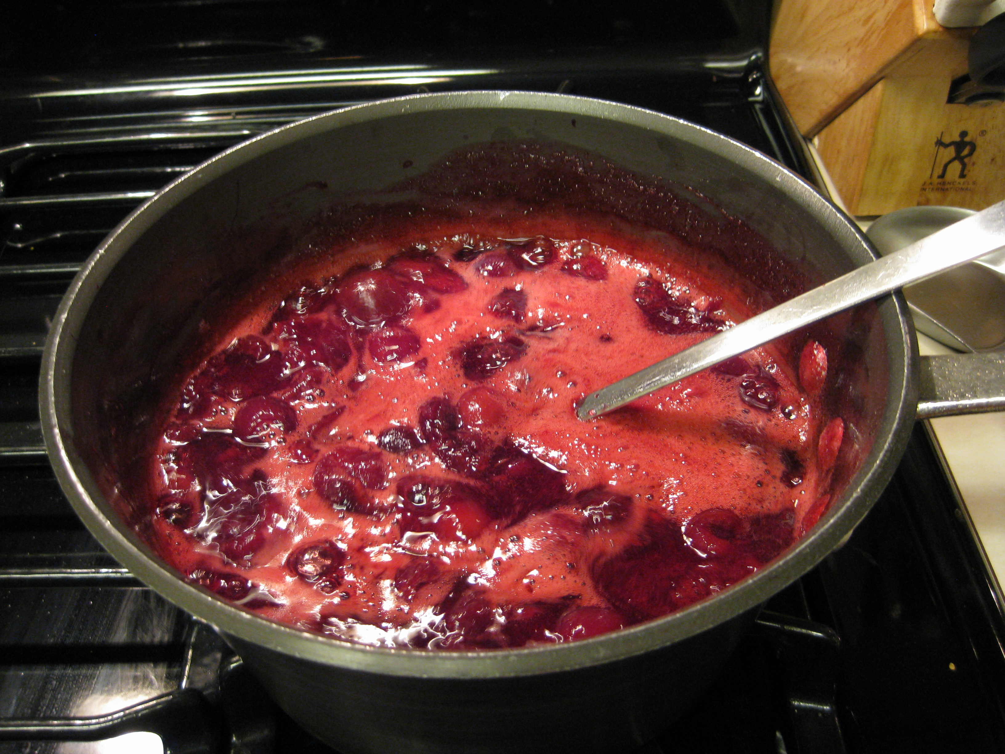 Cherry Amaretto Jam