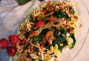 Cherry & Hazelnut Chard