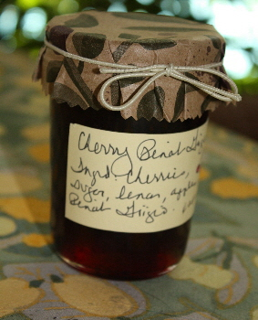 Sweet Cherry Pinot Grigio Jam