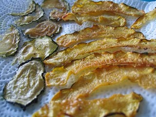 Squash Crisps with Raita