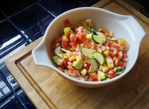 Fresh Summer Succotash