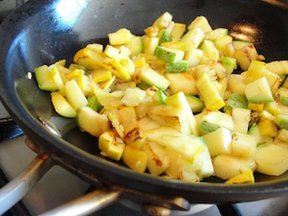 Spicy Summer Squash Succotash