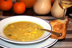 Curried Summer Squash Soup