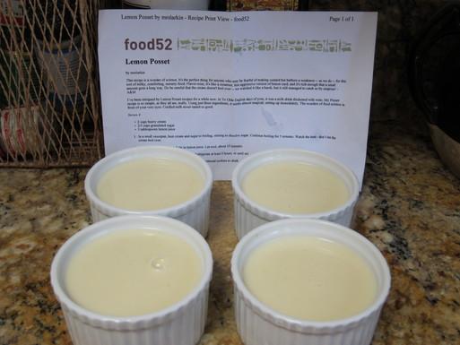 Lemon Posset Recipe on Food52