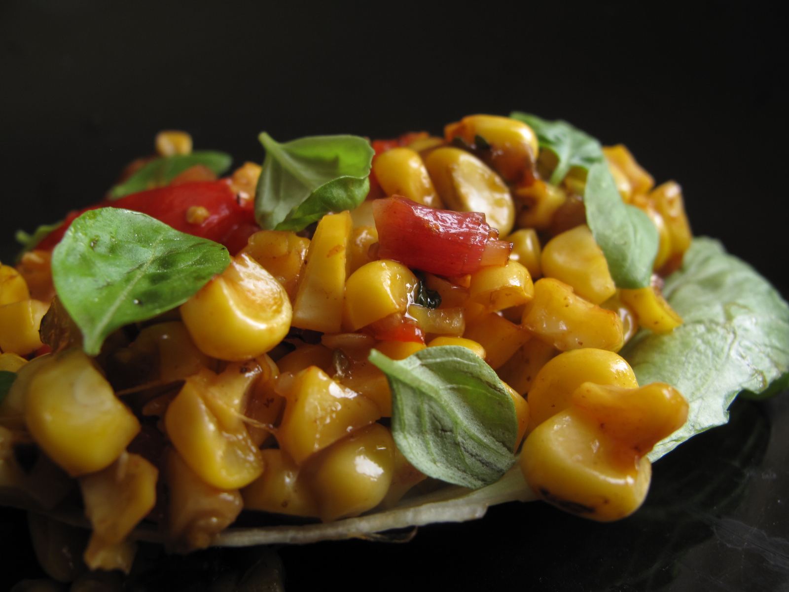 Fresh corn salsa