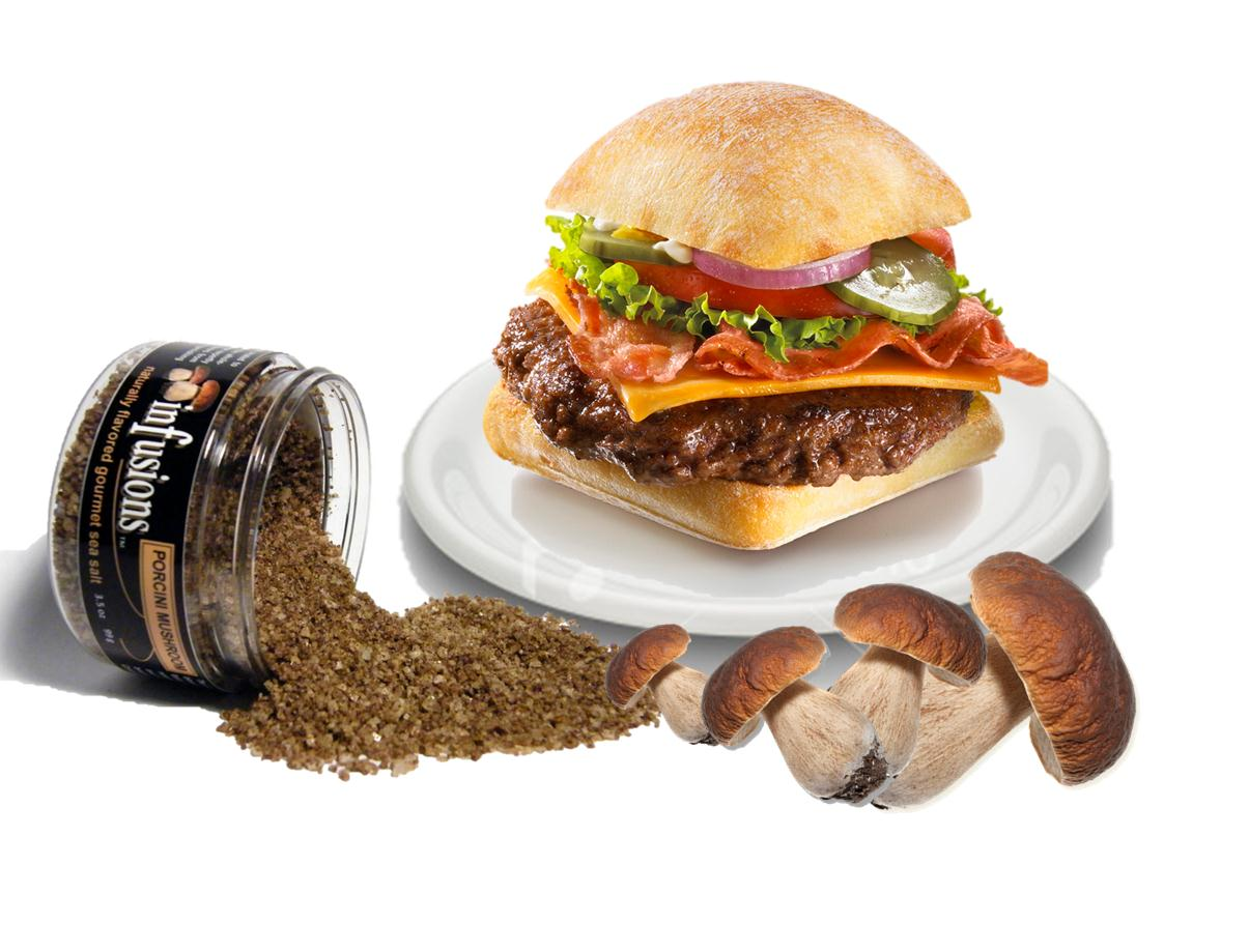 The Porcini Burger Caper