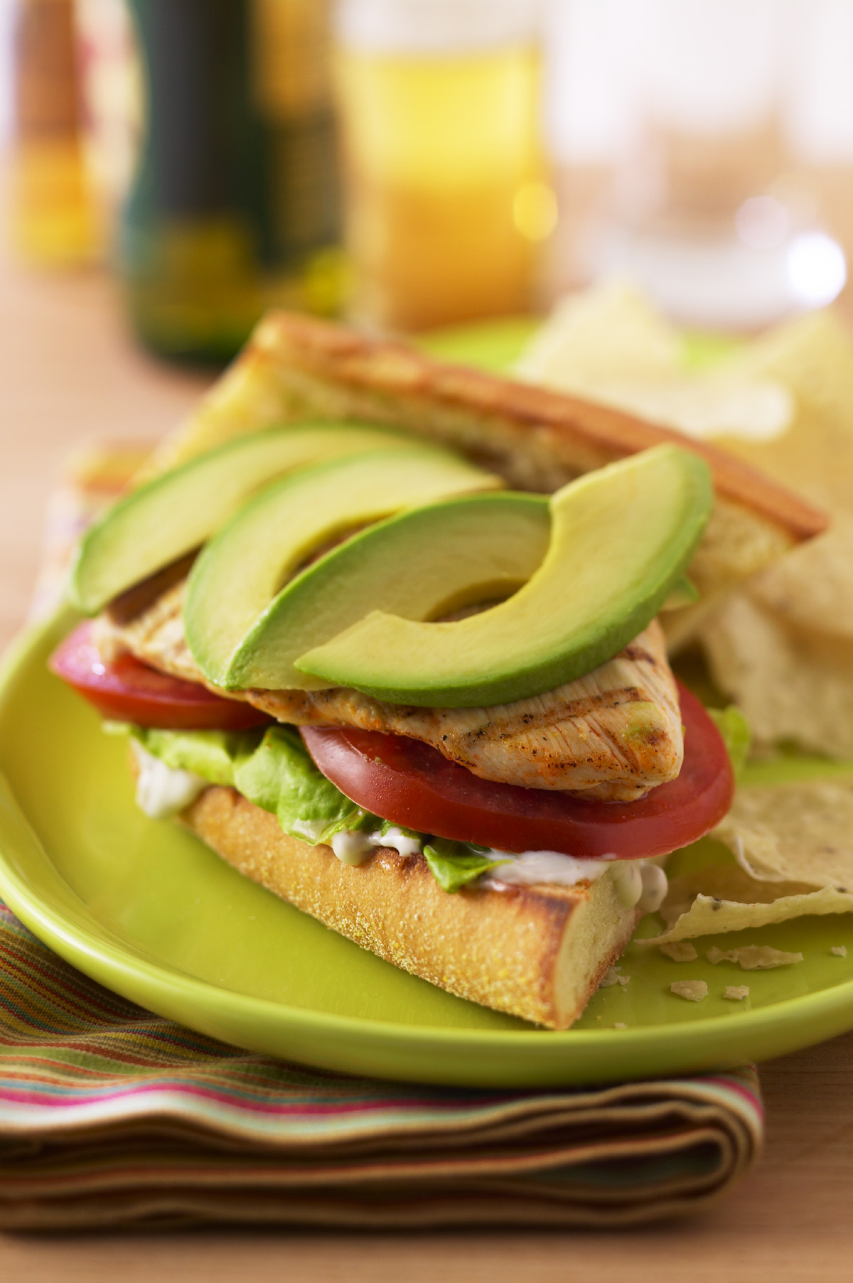 GRILLED BUFFALO CHICKEN AND AVOCADO SANDWICHES Recipe on Food52