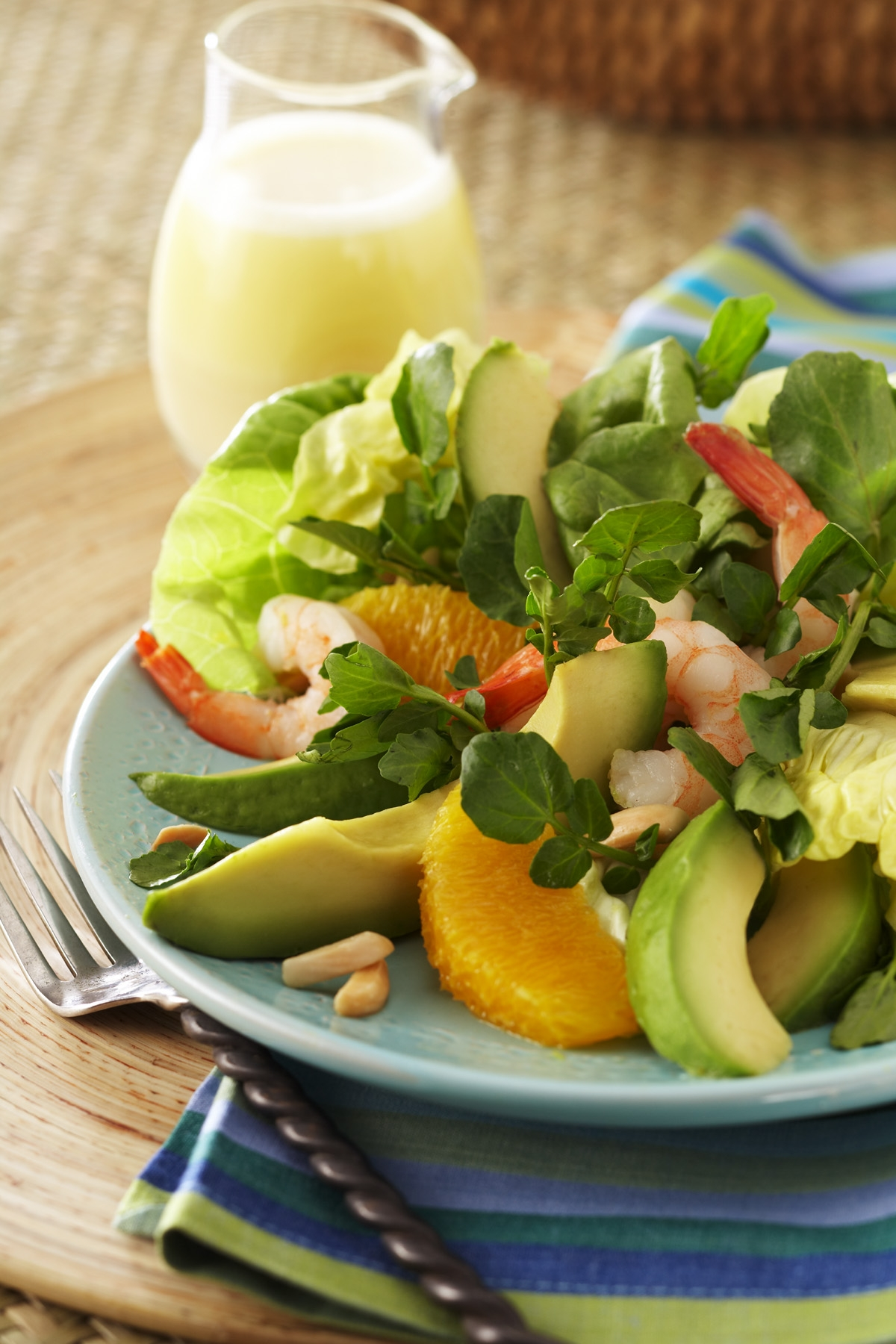 Avocado from Mexico, Orange and Watercress Salad. Adapted from Chef ...