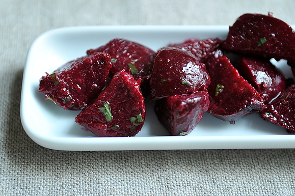Beets and Herbs Salad