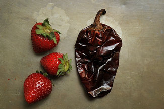 Preserved Strawberries with Chiles