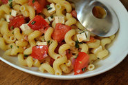 Summer Pasta alla Caprese