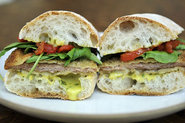 Pork Cutlet Sandwiches with Basil Aioli