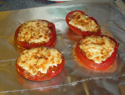 Quick Broiled Tomatoes