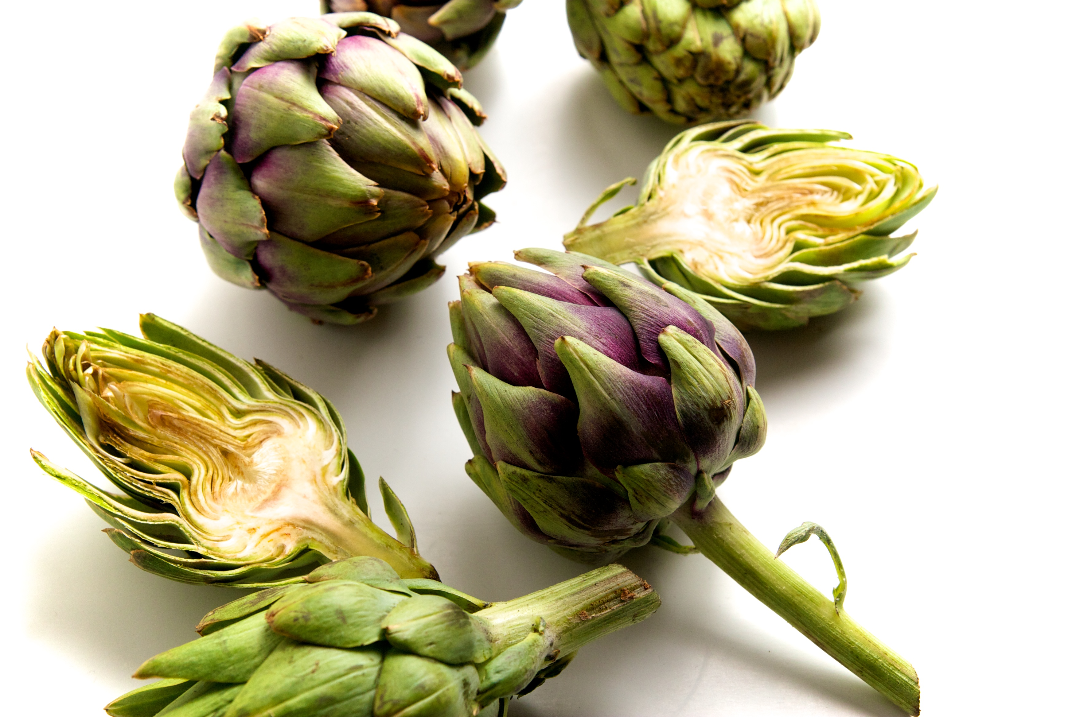 Pan Fried Artichokes in Lemon Garlic Brown Butter