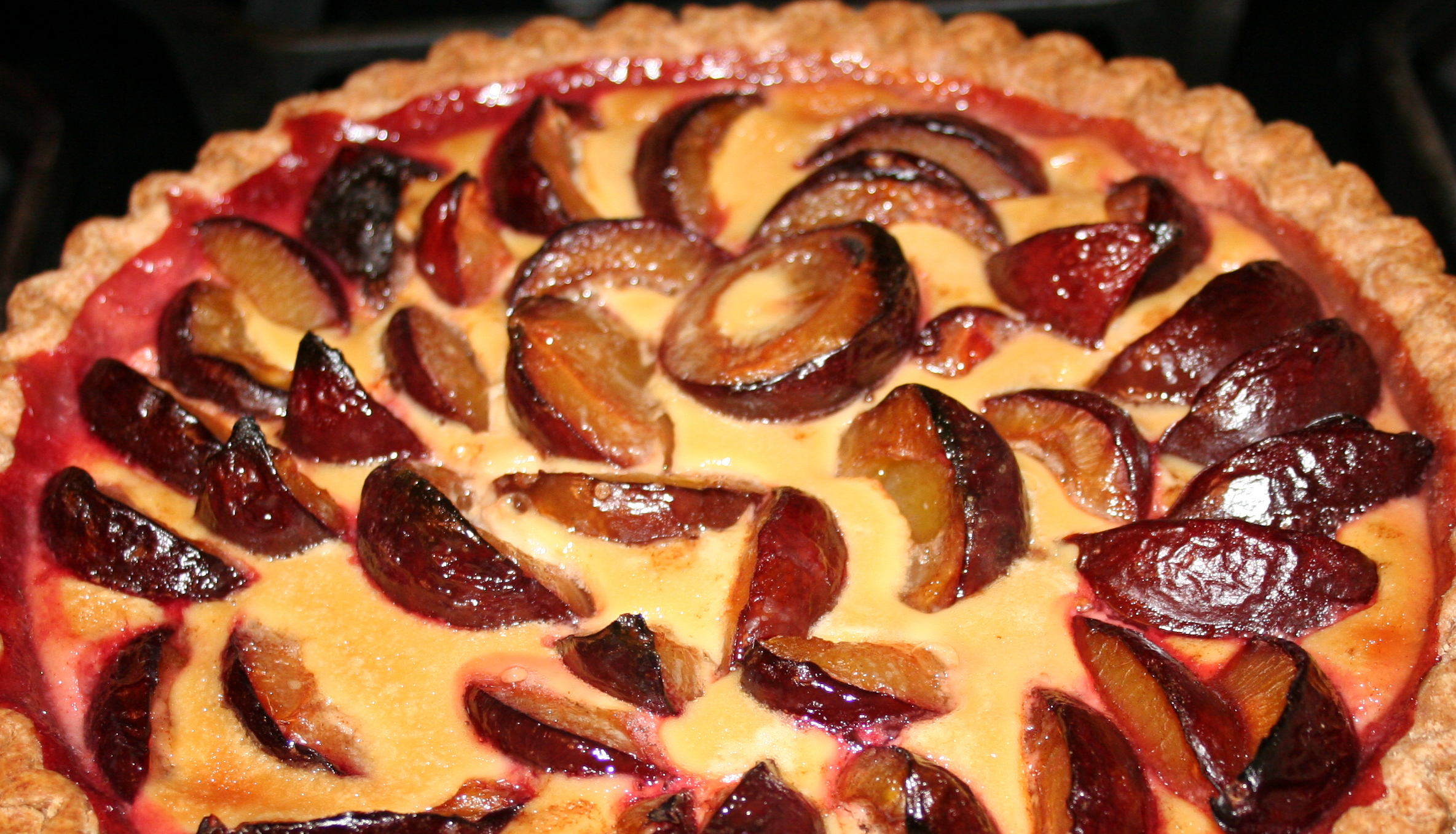 Tarte aux Quetsches (Italian Plum Tart)