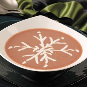 Elegant Plum Soup
