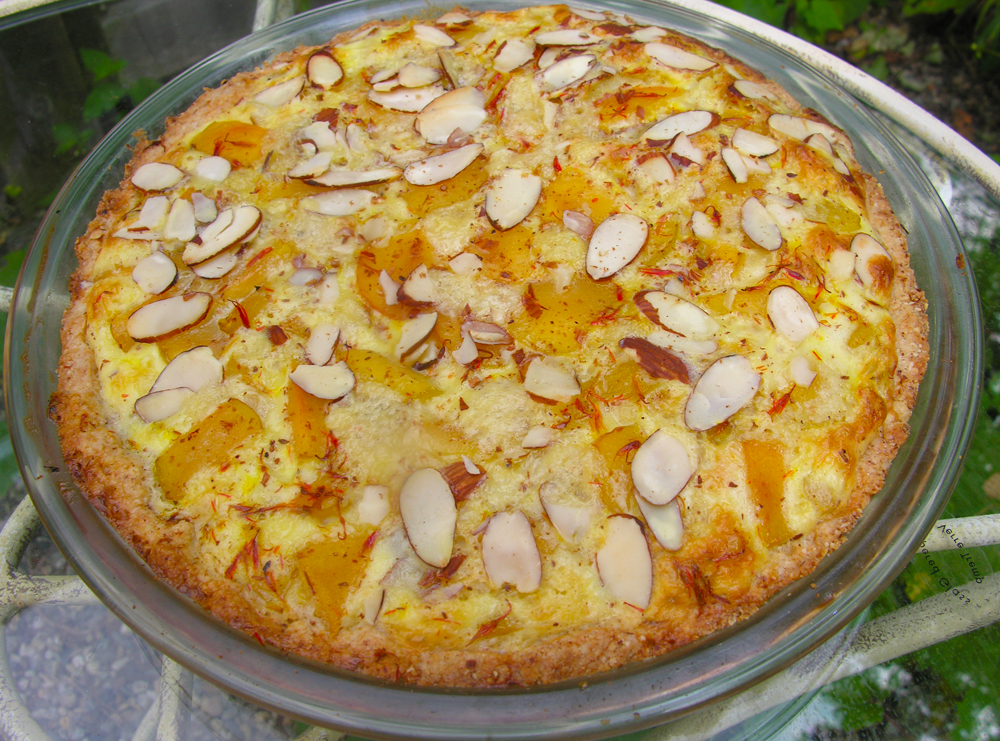 Dancing with Sugar Plums: visions for a golden plum cake from  dreamland
