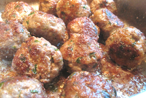Mama Caruso&#x27;s Fried Meatballs (don&#x27;t tell my family!)