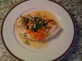 Sweet and Sour Tilapia