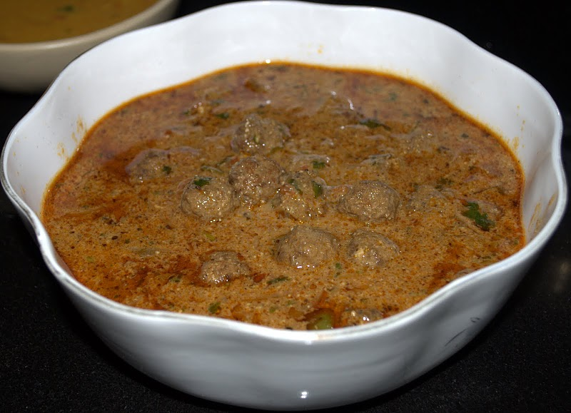 KERALA BEEF MEATBALLS