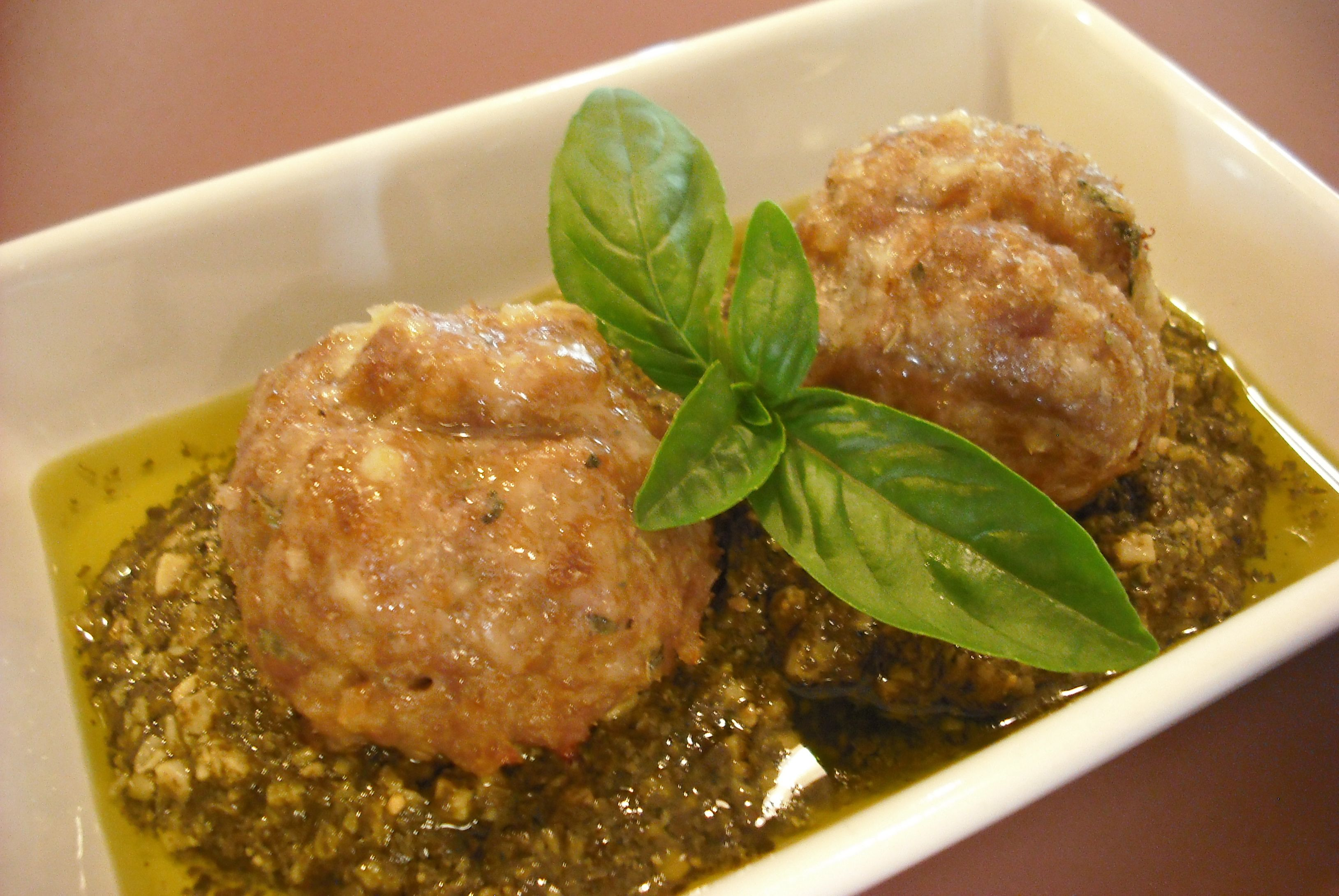 Bimbo Inspired Meatballs