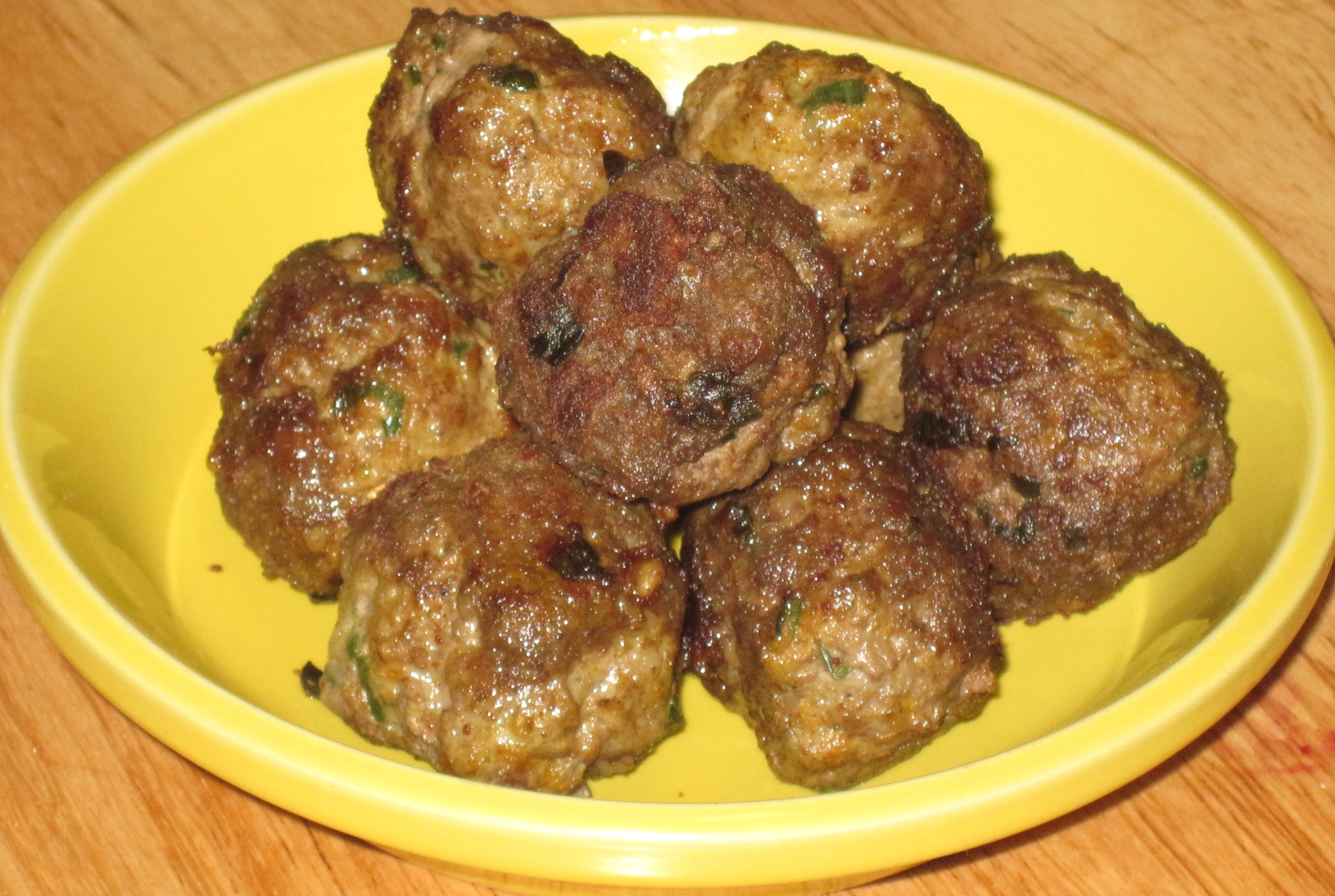 Moroccan Lamb Meatballs 