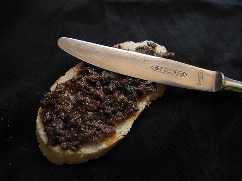 Black Garlic Tapenade