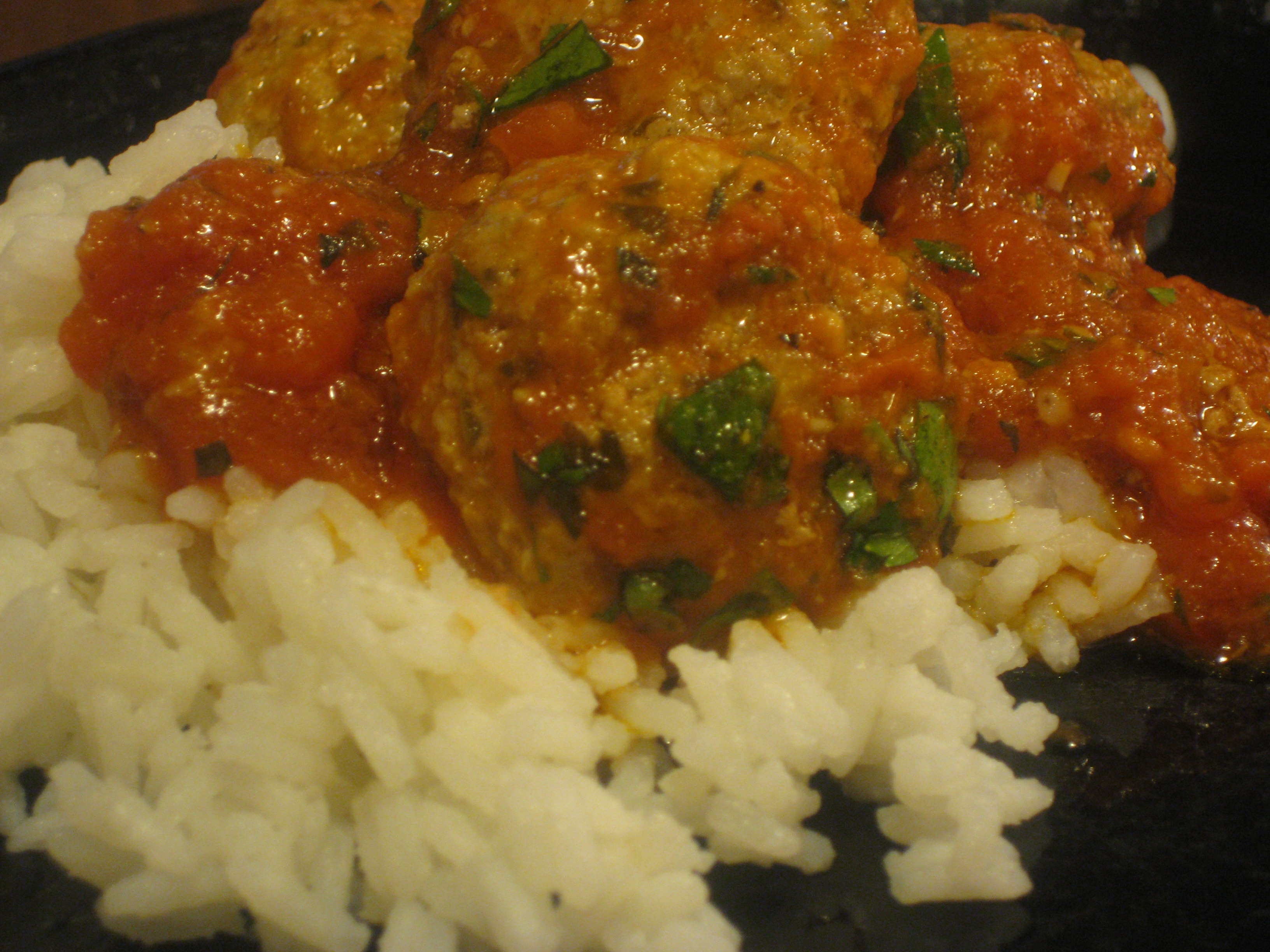 Knock-off Leon Moroccan Meatballs