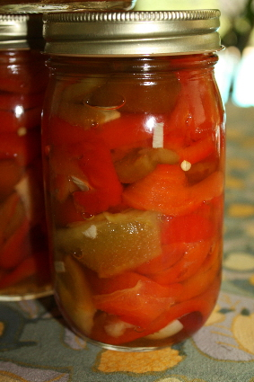 Luscious Pickled Peppers
