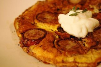 Curried Radish Omelet