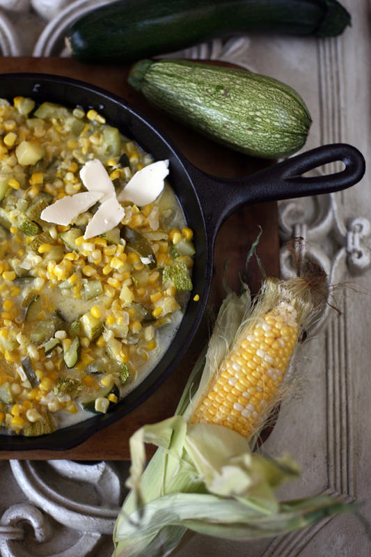 Calabacitas con Elote (Zucchini with Corn)