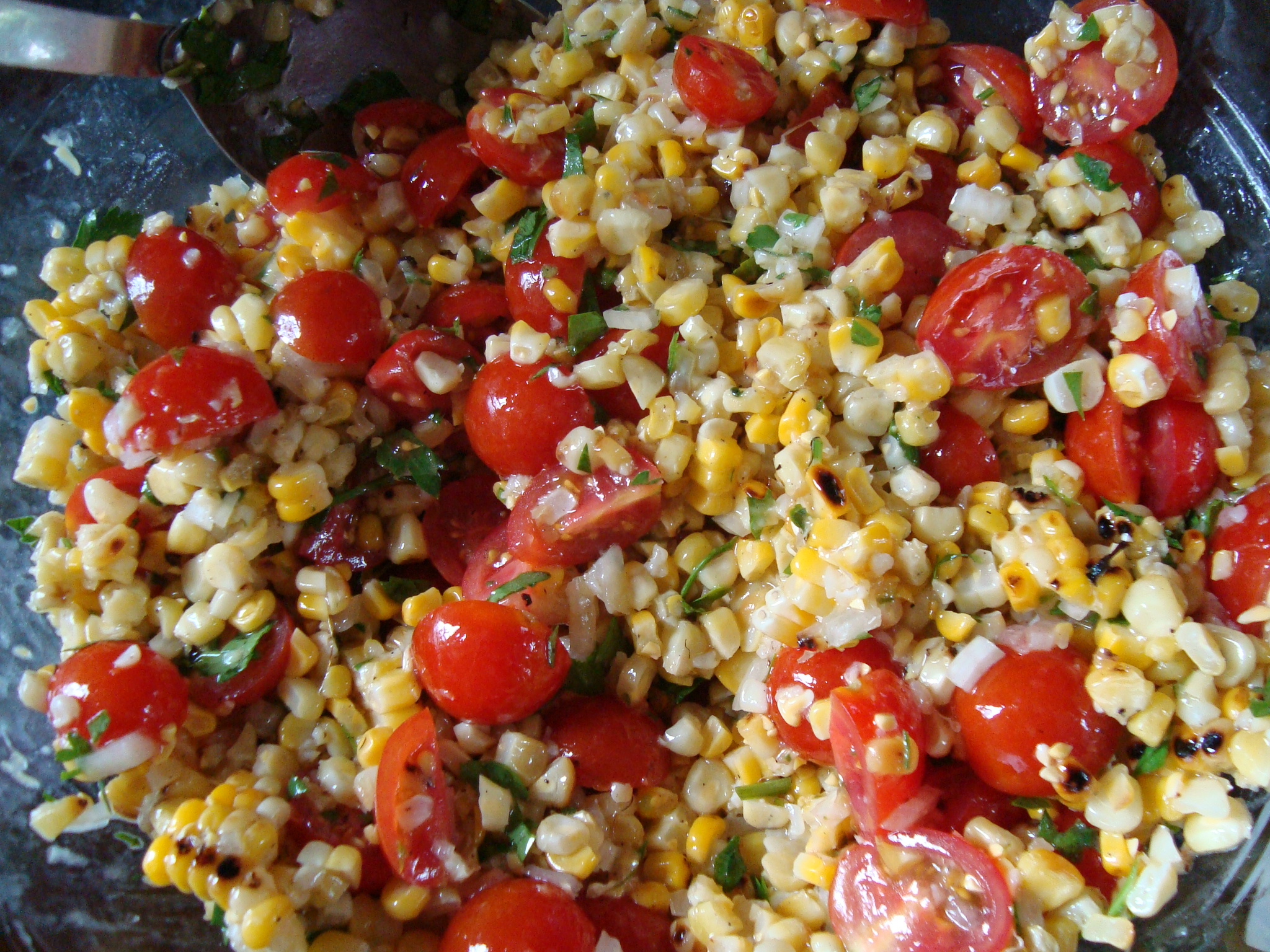 Grilled Cactus And Corn Salad Recipes — Dishmaps