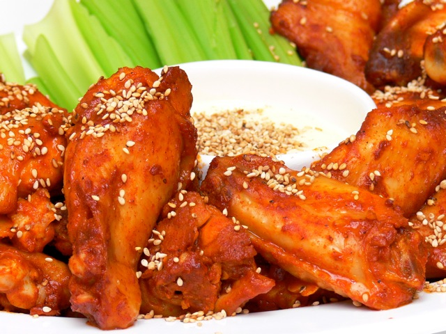Chuncheon chicken wings