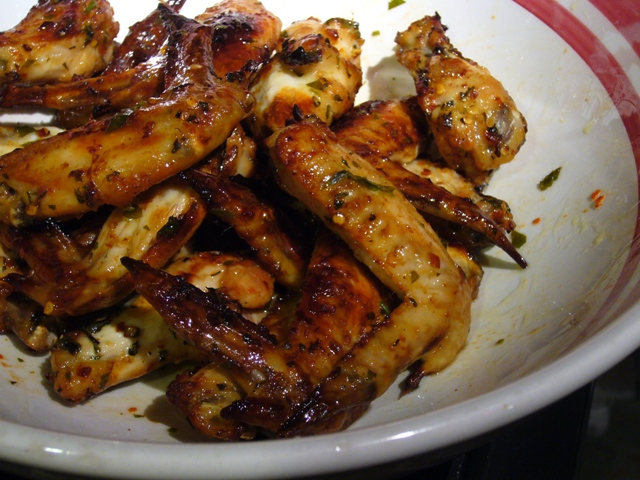 Zesty Italian Wings
