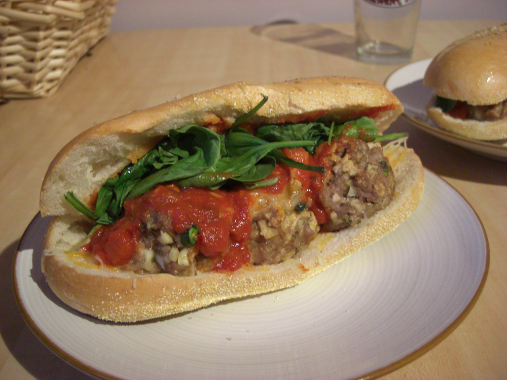 Meatball Sandwich