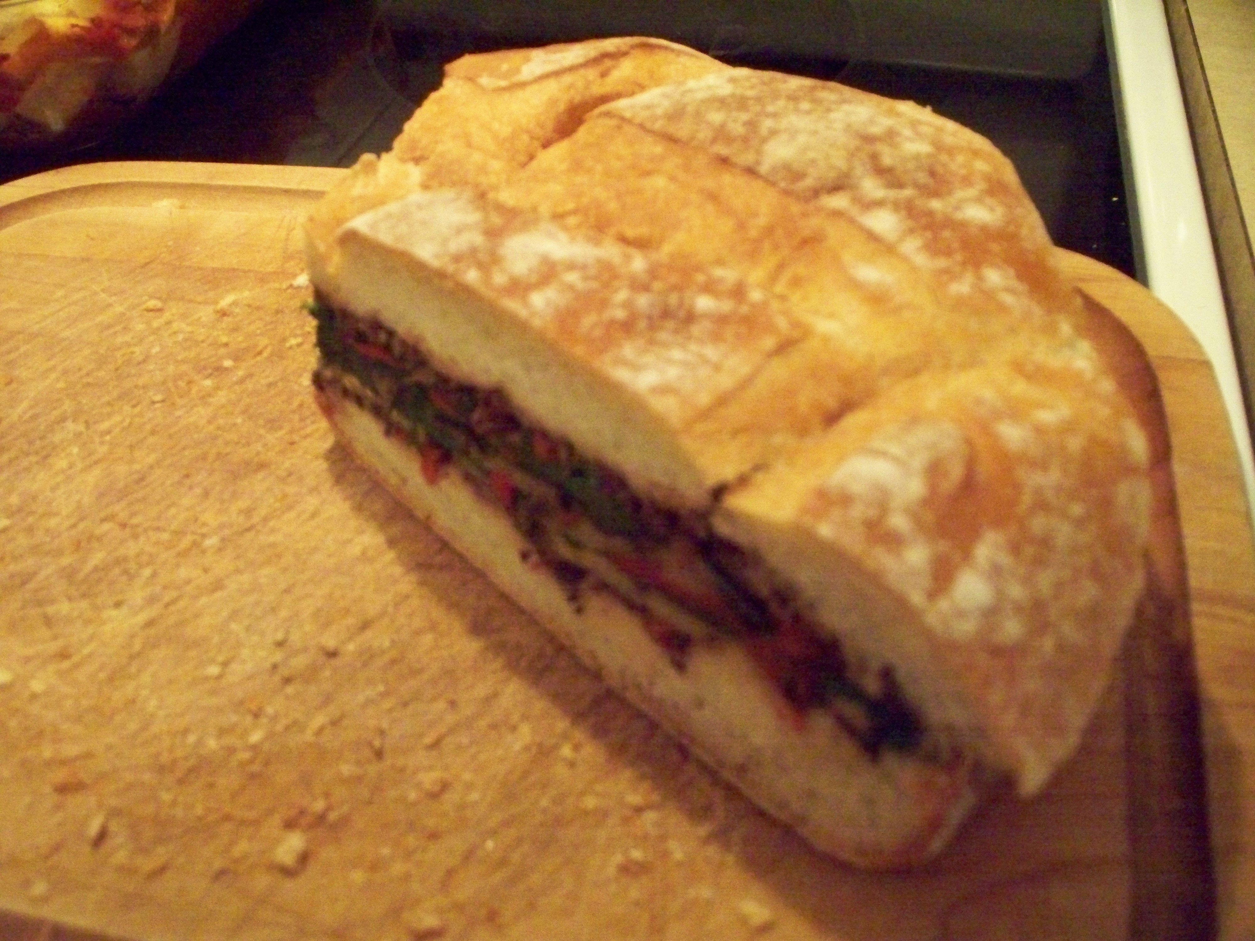 All Vegetable Muffaletta