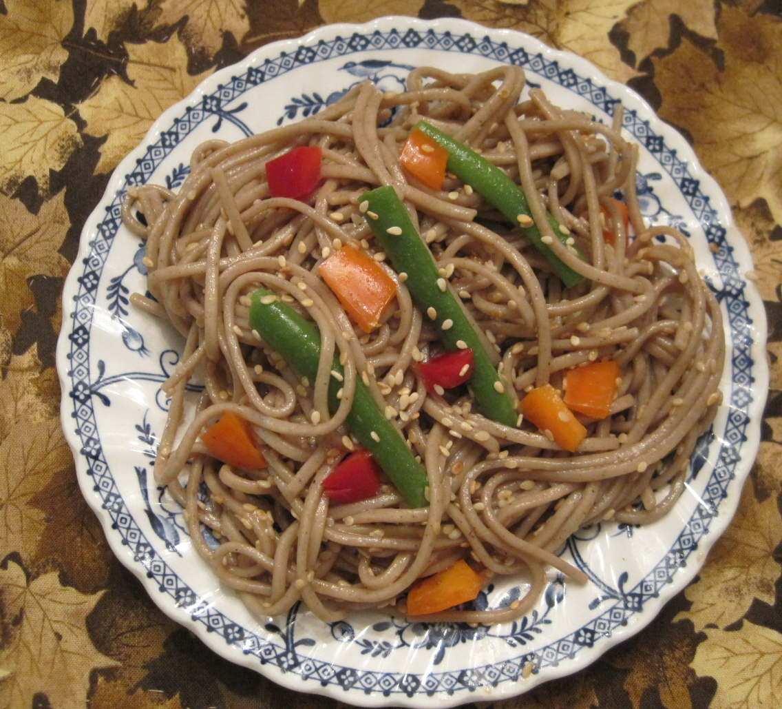 Sesame Soba Noodles