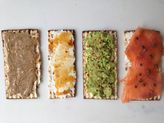 Matzoh Tartines for Passover