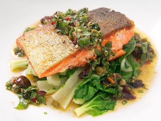 20120613-crispy-salmon-bok-choy-basil-caper-vinaigrette-9